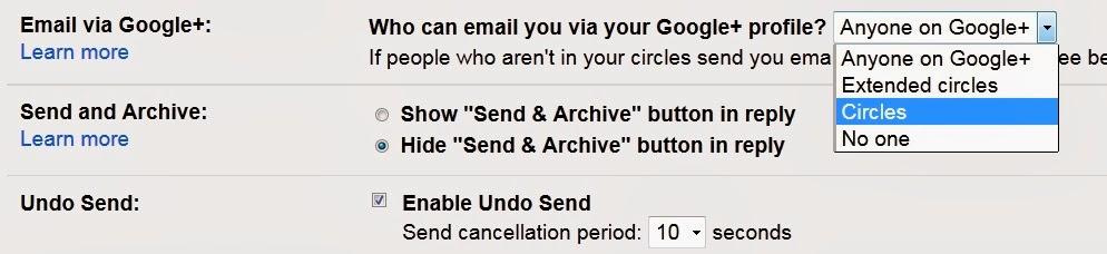 Control+GooglePlus+Email