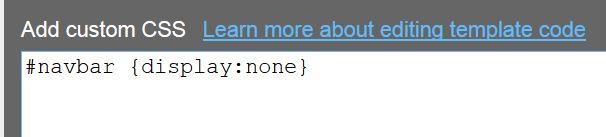 css-remove-hide-navbar-blogger
