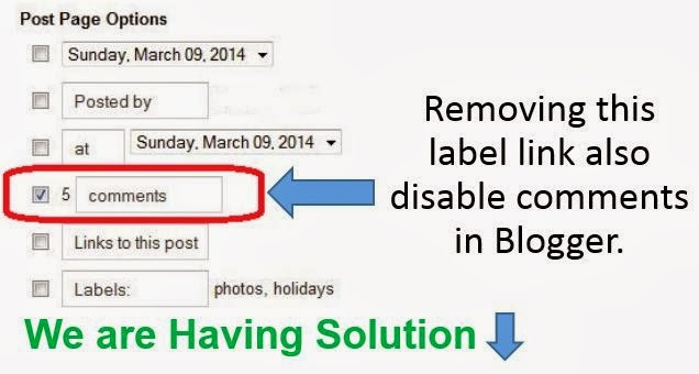 remove-comment-label-link-only-in-homepage-blogger