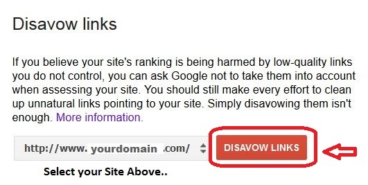 Disavow-links-web-master-tools