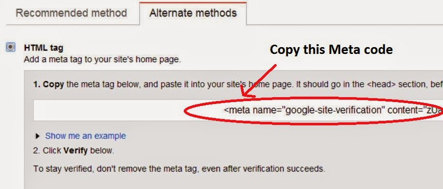 Google-webmaster-HTML-Tag-site-verification
