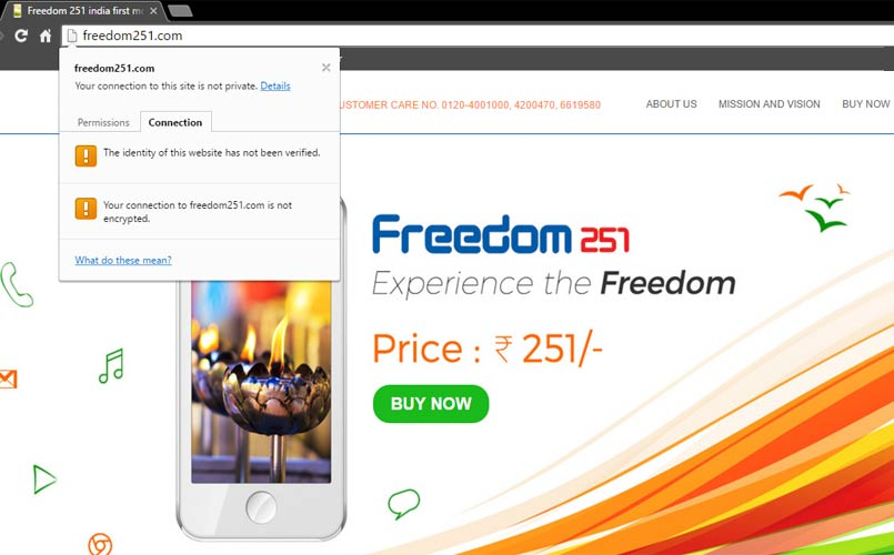 freedom251-com-not-secure